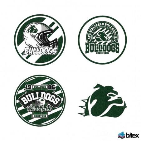 Bielefeld Bulldogs Aufkleberset