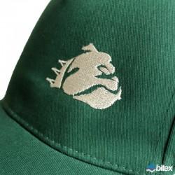 """Competition Cap """"Logo"""" in grün/schwarz/weiß"""