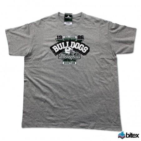 """Kinder T-Shirt """"Field"""" in grau"""