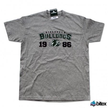 "Herren T-Shirt ""1986"" in grau"